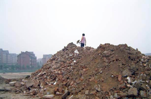 拆迁建筑垃圾